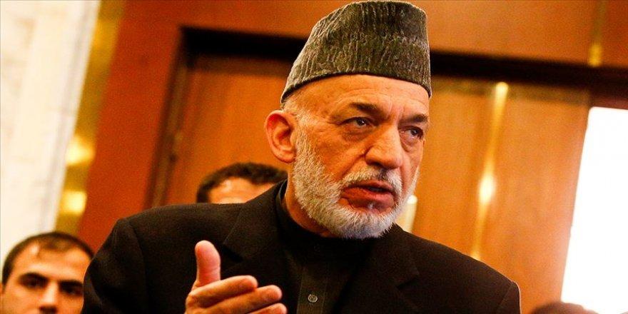Karzai, Afganistan'da barışın ancak Afganlar arası anlaşmayla mümkün olabileceğini belirtti