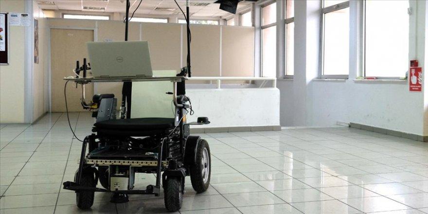 İTÜ'de yürüyemeyenler için yapay zekaya sahip otonom tekerlekli sandalye geliştirildi