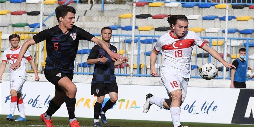 Ümit Milli Futbol Takımı hazırlık maçında Hırvatistan'a 4-1 yenildi