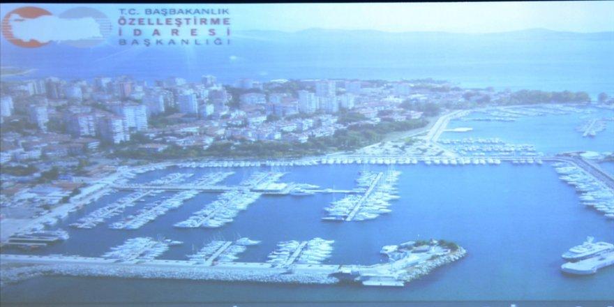 Fenerbahçe-Kalamış Yat Limanı 40 yıllığına özelleştirilecek