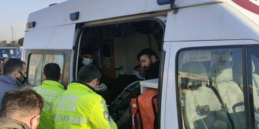 Gebze'de kaza ! 2 kişi yaralandı