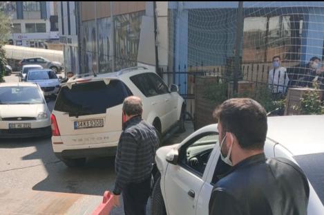 Gebze Sultan Orhan Mahallesi'nde trafik kazası meydana geldi.