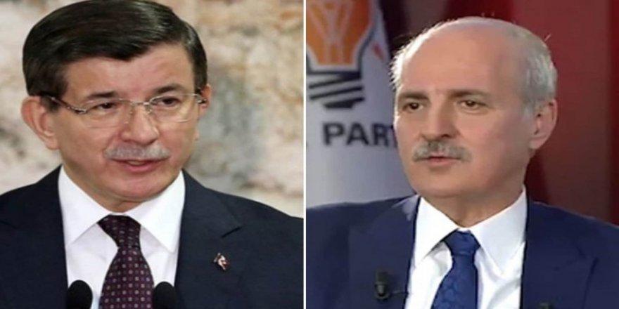 Davutoğlu'ndan,AK Parti'yi karıştıran Numan Kurtulmuş açıklaması