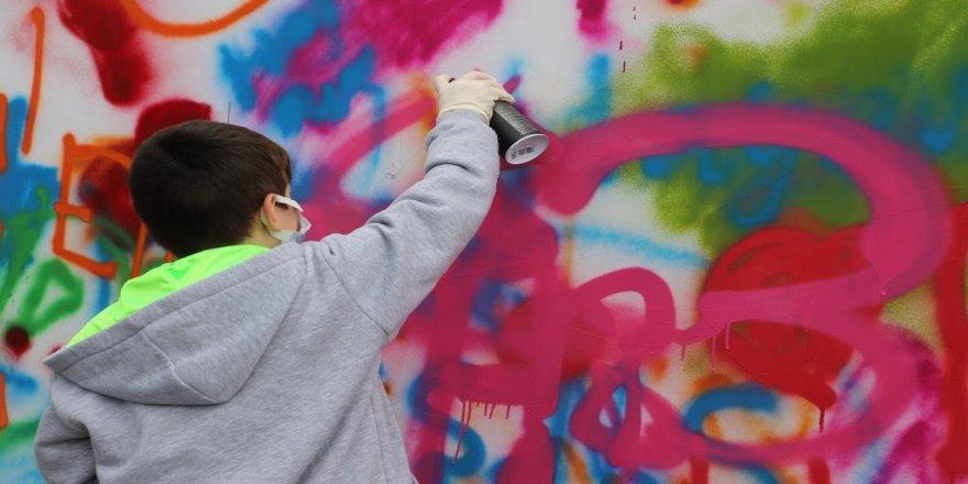 Grafiti tanıtım programı gerçekleştirdi