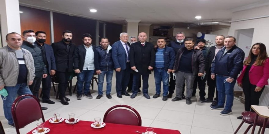 Deva Partisi Çayırova'dan,Kastamonulular Derneğine ziyaret