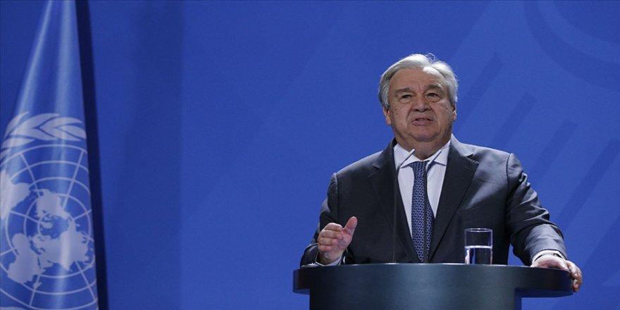 BM Genel Sekreteri, Sincan Uygur Özerk Bölgesi'ni ziyaret için Çin ile ciddi müzakere yürüttüklerini söyledi