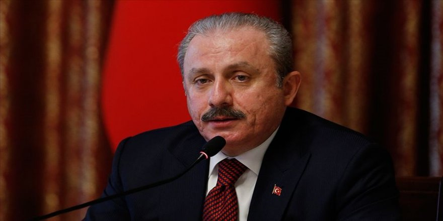 TBMM Başkanı Şentop: Atatürk büstlerine yapılan provokatif, alçakça saldırıları kınıyorum