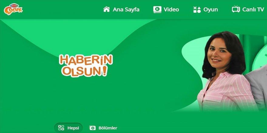 TRT Çocuk'un Haberin Olsun programı bugünden itibaren işaret dili tercümesiyle yayınlanacak