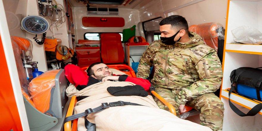 Dağlık Karabağ Savaşı'nda yaralanan 27 Azerbaycanlı gazi, Türkiye'de tedavi edilecek