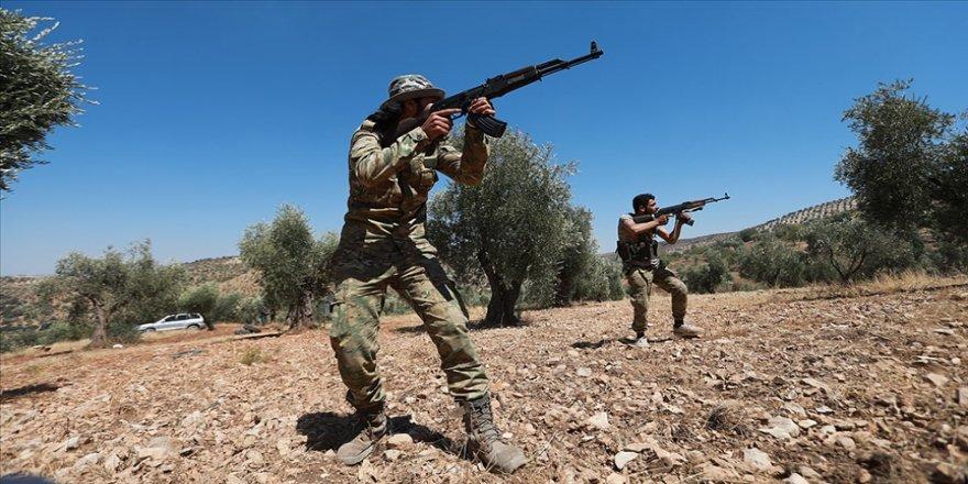 Tel Rıfat'ta YPG/PKK'nın saldırısı sonucu iki SMO askeri şehit oldu