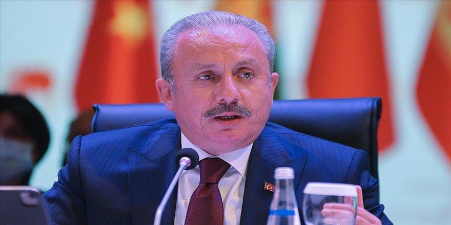TBMM Başkanı Mustafa Şentop: Antlaşmaları hak ve hukukumuzu koruma kudretimiz ve kararlığımız var eder