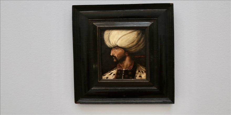 İngiltere'de Kanuni Sultan Süleyman portresi, 2 gün sonra açık artırmayla satılacak