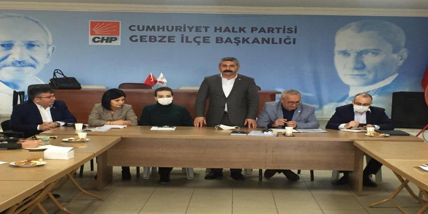 Gebze CHP' eğitim programına Gebze ev sahipliği yaptı