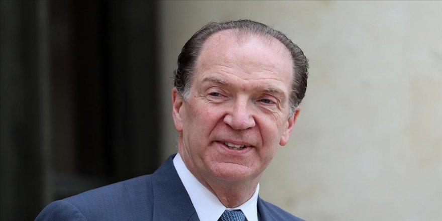 Dünya Bankası Başkanı Malpass'dan borç servisini askıya alma girişimini 2021 sonuna kadar uzatma çağrısı