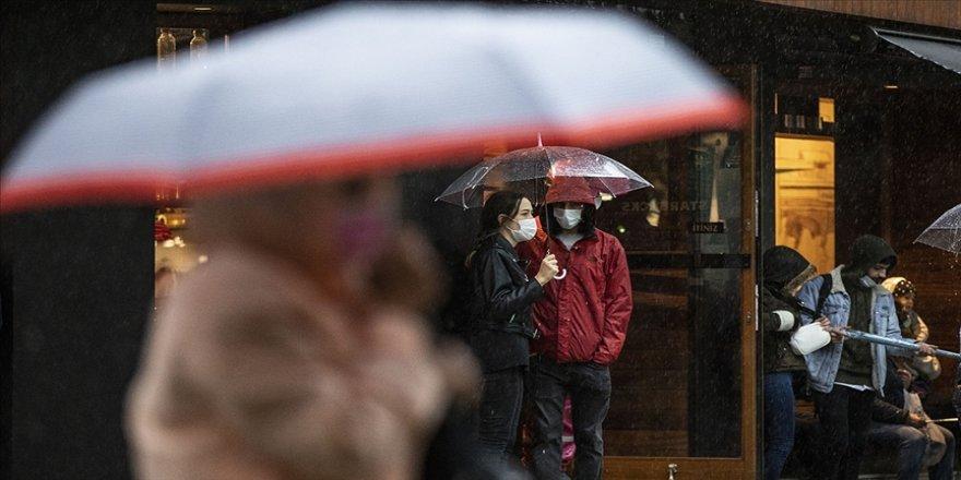 Marmara Bölgesi'nde aralıklı yağmur ve sağanak bekleniyor