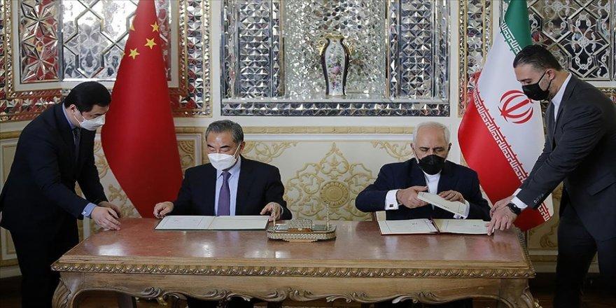 İran'da Çin ile imzalanan iş birliği anlaşması protesto edildi
