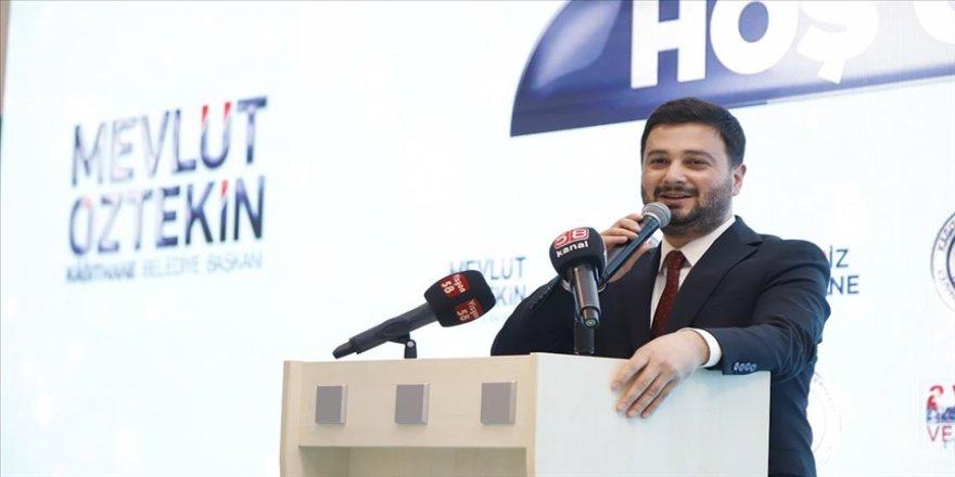 Kağıthane Belediye Başkanı Mevlüt Öztekin, 2 yılda hayata geçirilen projeleri anlattı