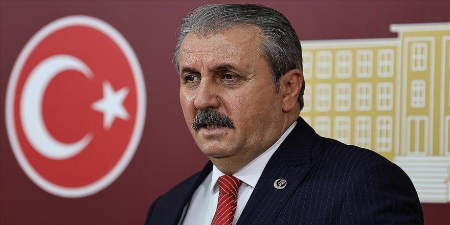 BBP Genel Başkanı Destici: (AYM'nin HDP'li Gergerlioğlu kararı) Bugün Meclisteki PKK şovun bir ayağı sonlandırıldı