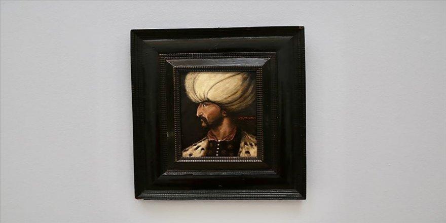 İngiltere'de yapılan açık artırmada Kanuni Sultan Süleyman'ın portresi 4 milyon TL'ye satıldı