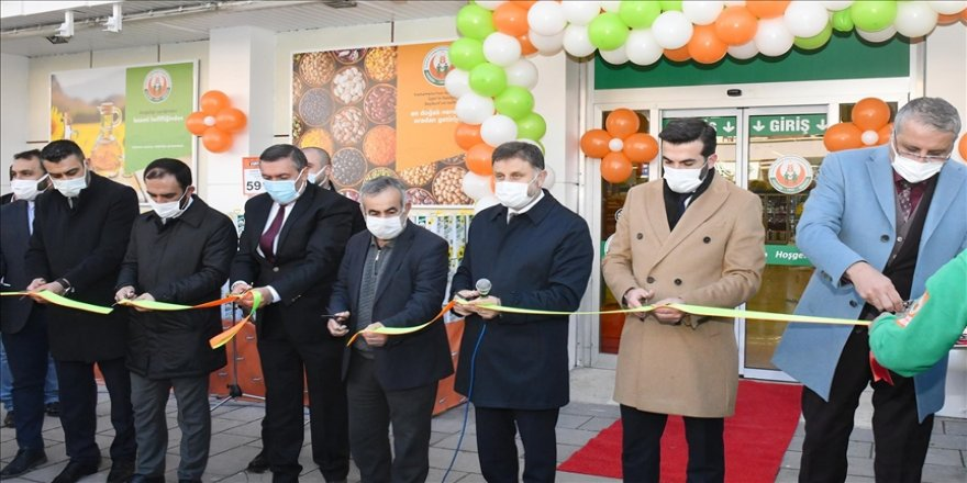 """""""Tarım Kredi Kooperatif Market""""in 205'inci şubesi Ankara'da açıldı"""