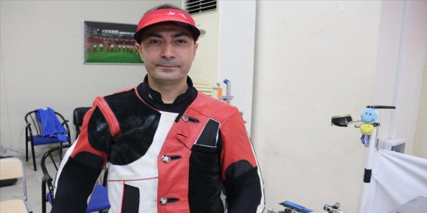 Diyarbakırlı milli sporcu Ömer Akgün ağabeyinin antrenörlüğünde Tokyo Olimpiyatları'na hazırlanıyor
