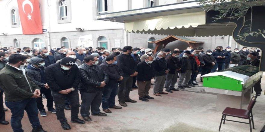 Irak'ta inşaattan düşerek ölen işçi Kocaeli'de toprağa verildi