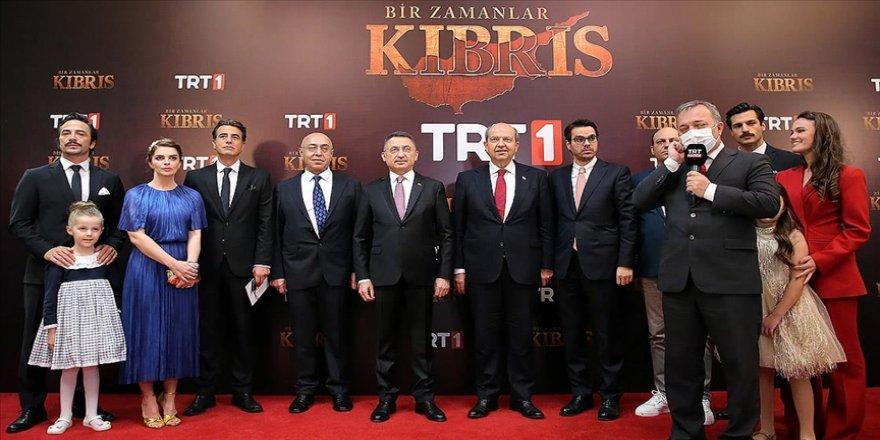 Cumhurbaşkanı Yardımcısı Oktay, KKTC'de 'Bir Zamanlar Kıbrıs' dizisinin galasına katıldı