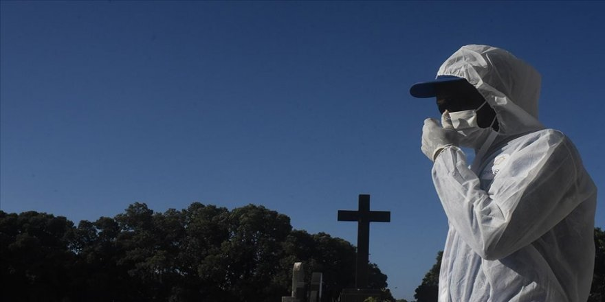 Brezilya'da 24 saatte Kovid-19 nedeniyle 3 bin 769 kişi hayatını kaybetti