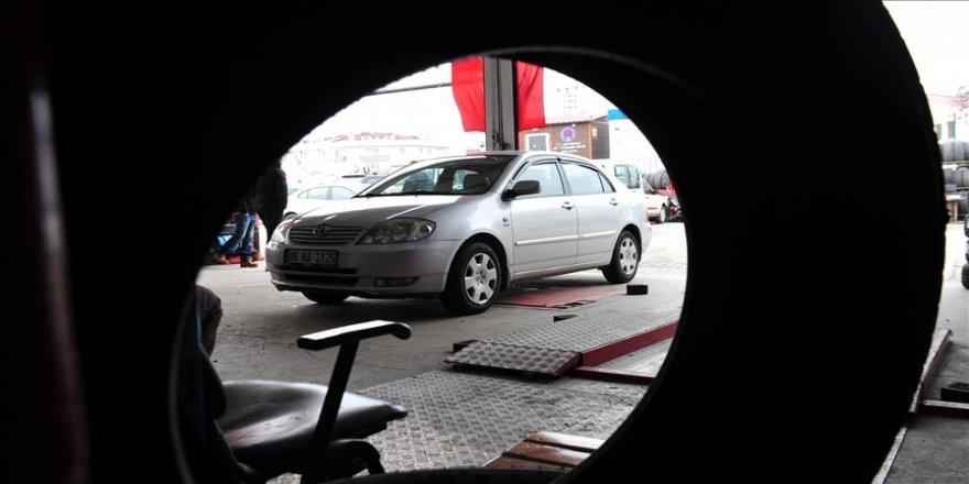 """MASFED Başkanı Erkoç, araçlarda """"yaz lastiğine"""" geçilmesi gerektiğini belirtti"""
