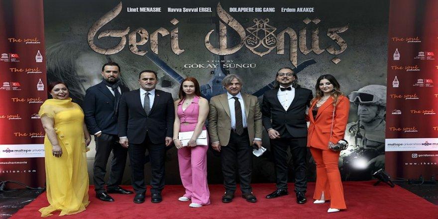 Suriye'deki savaş mağdurlarını ve göçü anlatan 'Geri Dönüş' filminin galası yapıldı