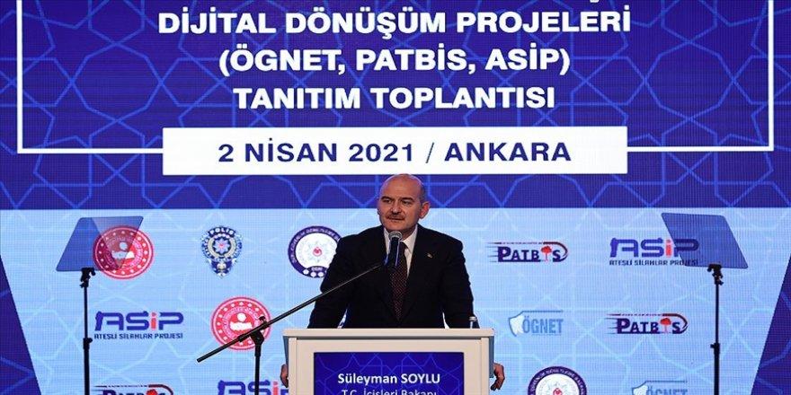 Bakan Soylu: PATBİS ile patlayıcı maddelerin amacı dışında ve suç örgütleri tarafından kullanılmasının önüne geçildi