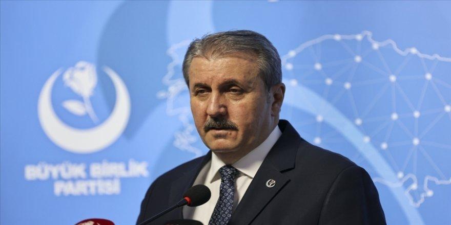 BBP Genel Başkanı Destici: Seçim barajı sıfır olmalı
