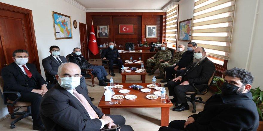 Rum cemaati temsilcileri, Milli Savunma Bakanı Akar'ın ziyaretinden memnuniyet duydu