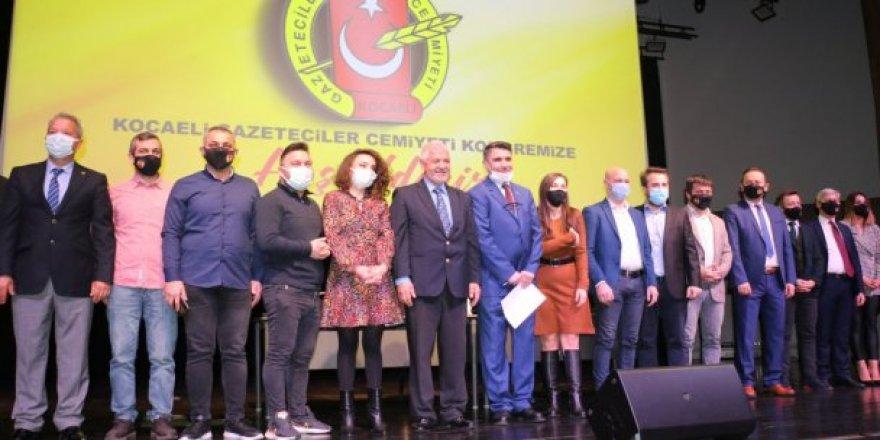 Kocaeli Gazeteciler Cemiyeti,Olağan Genel Kurulu, gerçekleştirildi