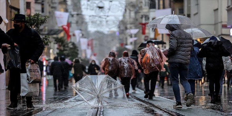 Marmara bölgesinin güney ve doğusu için kuvvetli sağanak uyarısı
