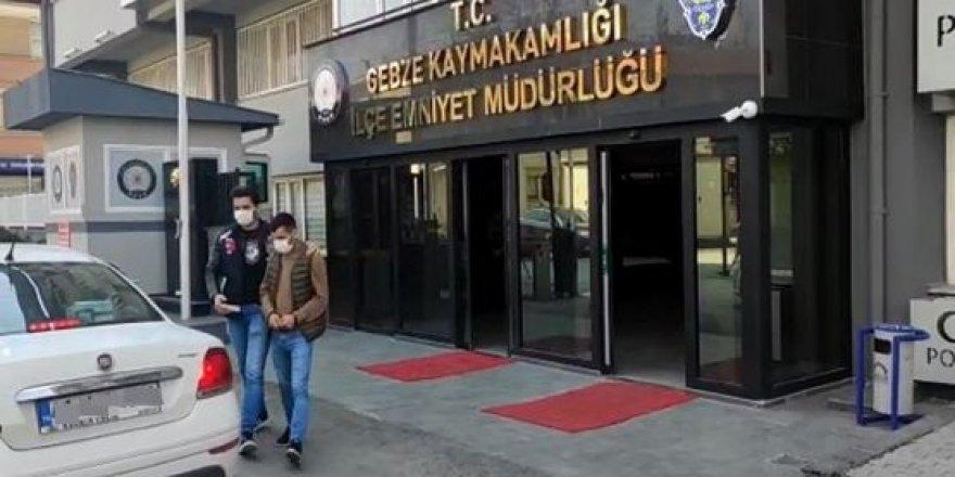 Gebze'de yankesicilik yapan şahıs tutuklandı