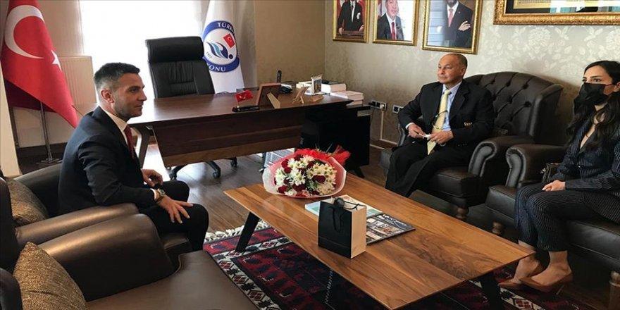 FINA Başkanı Al-Musallam'dan Türkiye Yüzme Federasyonuna ziyaret