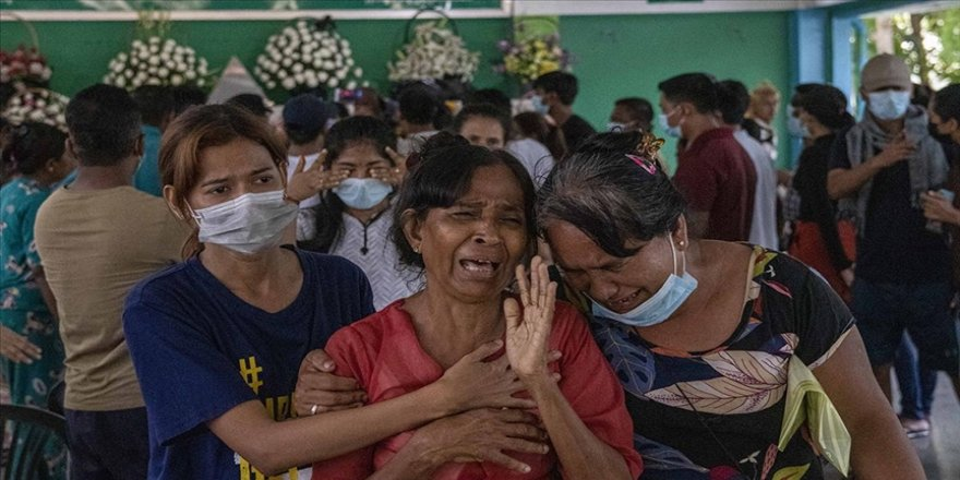 Myanmar'da güvenlik güçlerinin silahlı müdahalesiyle ölen sivillerin sayısı 570'e çıktı