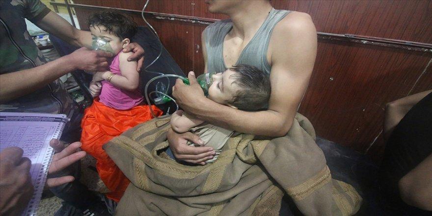 Şam'ın Duma ilçesindeki kimyasal silahlı katliamın üzerinden 3 yıl geçti