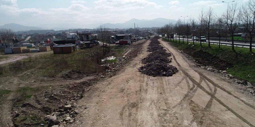 Yeni Emniyet Müdürlüğü'nün çevre yolları ve otoparkı Büyükşehir tarafından yapılıyor