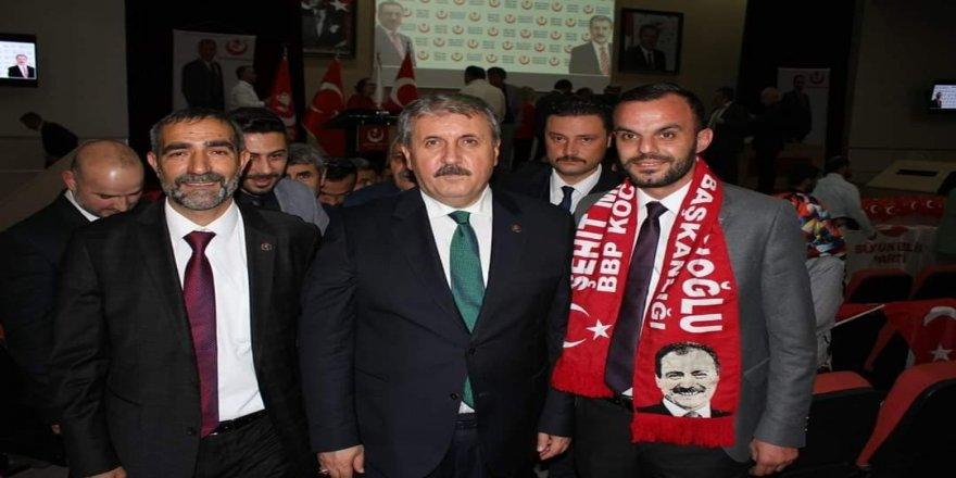Büyük Birlik Partisi Genel başkanı Mustafa Destici Kocaeli'ye geliyor