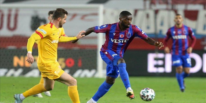 Trabzonspor'un forvetleri, ikinci yarıda beklentinin altıda kaldı