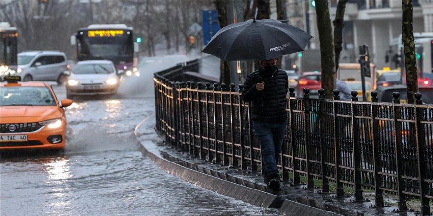 Marmara Bölgesi'nde geçen ay yağışlar yüzde 30 arttı
