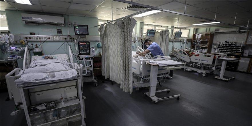 Gazze'de endişe verici boyuta ulaşan Kovid-19 salgını sağlık sistemini zorluyor