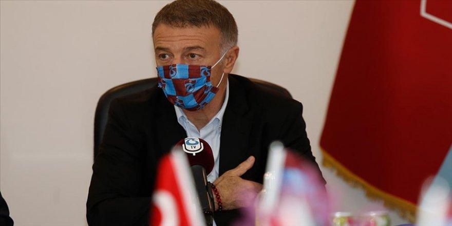 """Trabzonspor Başkanı Ağaoğlu: """"Bugün, yarınlara daha umutlu bakan bir camiamız var"""""""