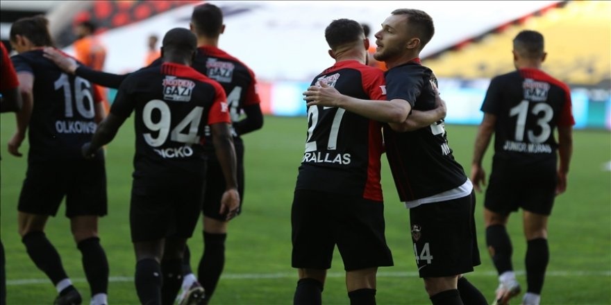 Gaziantep Süper Lig'i ilk 5'te tamamlamak istiyor