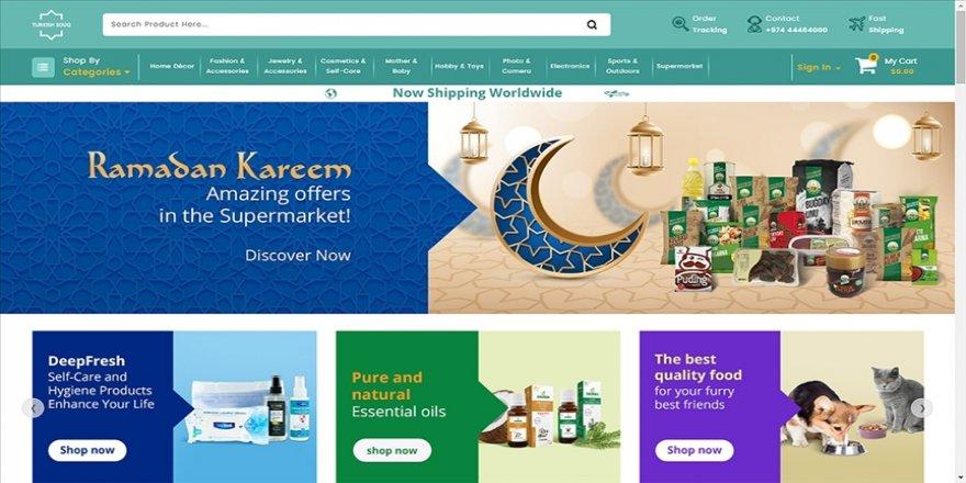 PTT, Türk ürünlerini 'turkishsouq.com' üzerinden dünya pazarına sunuyor