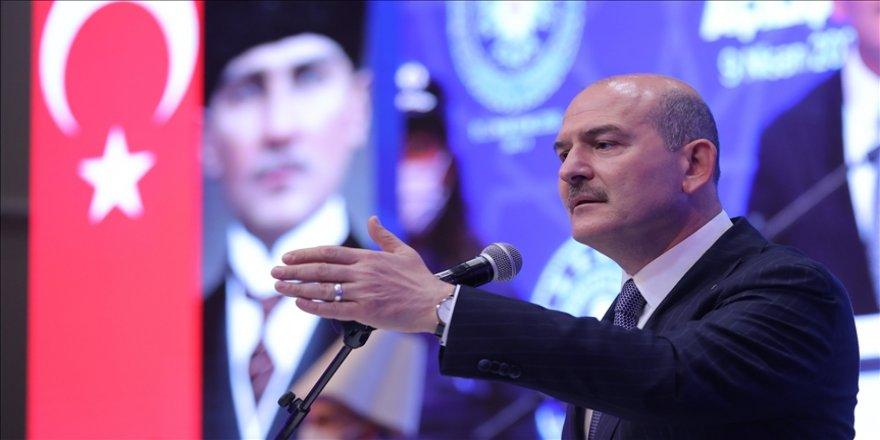 İçişleri Bakanı Süleyman Soylu: Türk polisi, coğrafya ve Avrupa için de güvenlik üreten bir kurum haline gelmiştir
