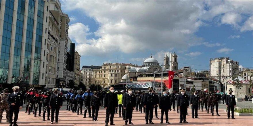 Türk Polis Teşkilatının kuruluşunun 176. yılı Taksim'de kutlandı