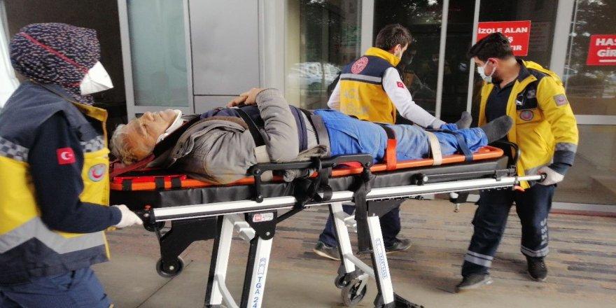 Kocaeli'de bir işçi,çalıştığı inşaatın 2. katından düştü